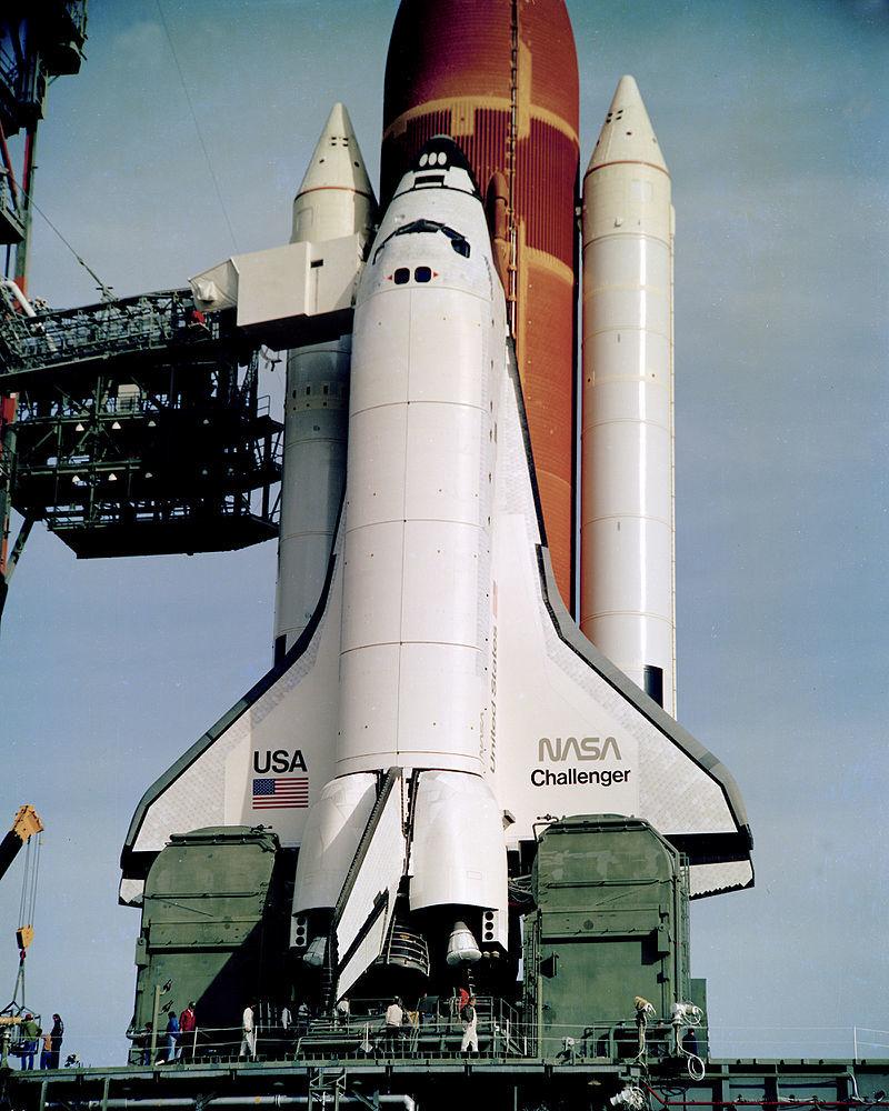 Queda do ônibus espacial - Challenger