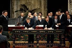 Portugal e Espanha entram na União Europeia