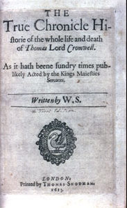 Thomas Lord Cromwell