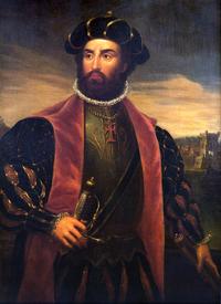 Vasco da Gama chega à Índia