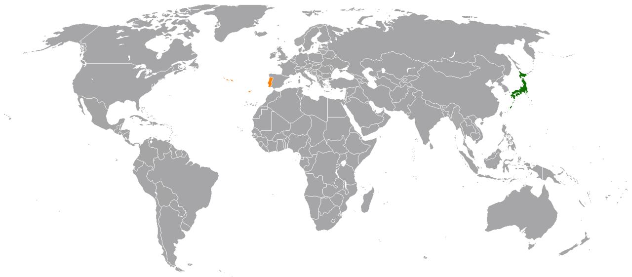 Portugueses no Japão
