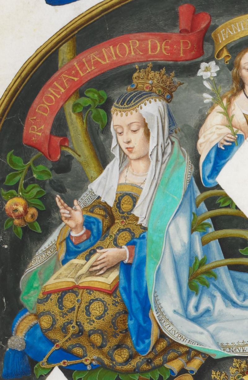Regente - Leonor de Aragão, Rainha de Portugal