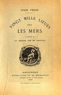 Primeira Publicação de Vinte Mil Léguas Submarinas