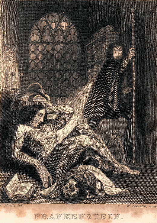Frankenstein é publicado