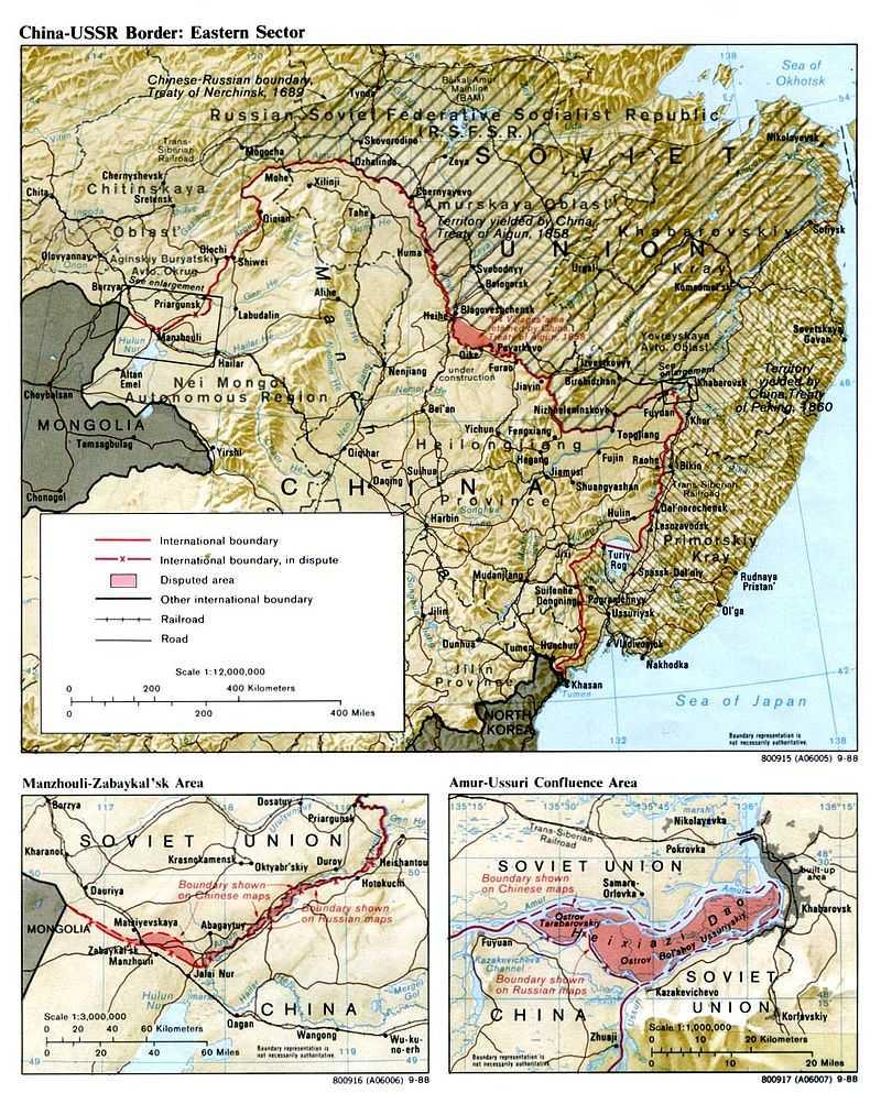 Conflito fronteiriço sino-soviético