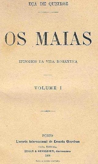 1ª publicação dos Maias - Eça de Queiroz