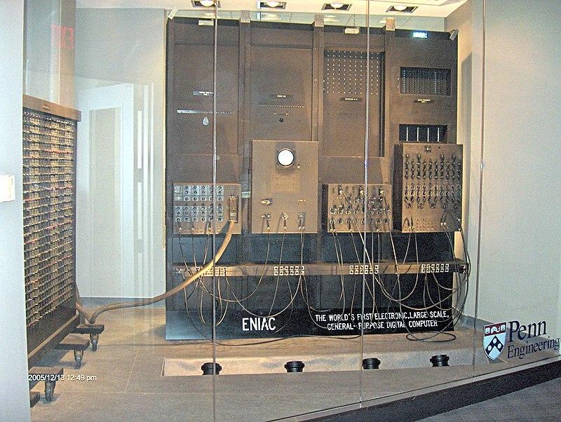 First computer – ENIAC