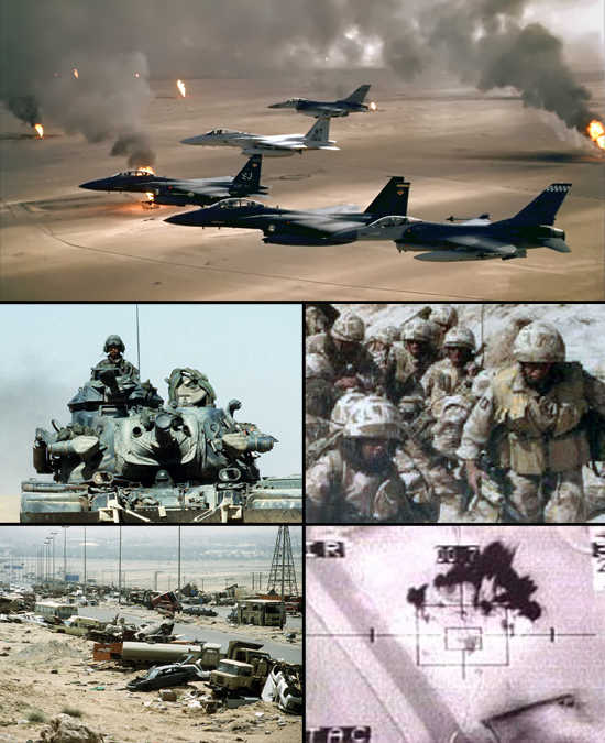 Outbreak of the Gulf War