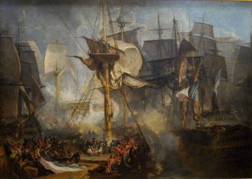 Battles of Trafalgar and Austerlitz