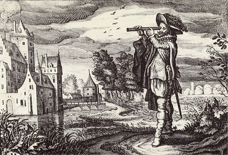 Galileo invents the telescope