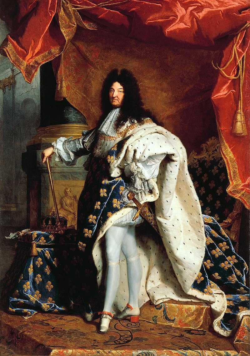 Start of the reign of Louis XIV