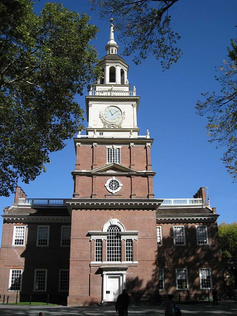 The Second Continental Congress declares the independence of the USA
