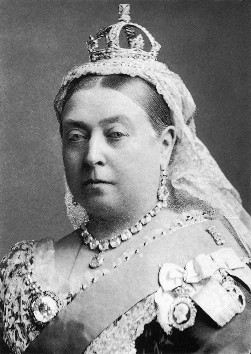 Victoria is crowned Queen of England