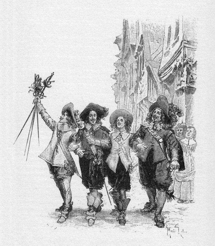 Alexandre Dumas publishes The Three Musketeers