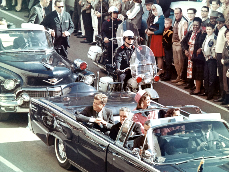 Assassination of President Kennedy in Dallas
