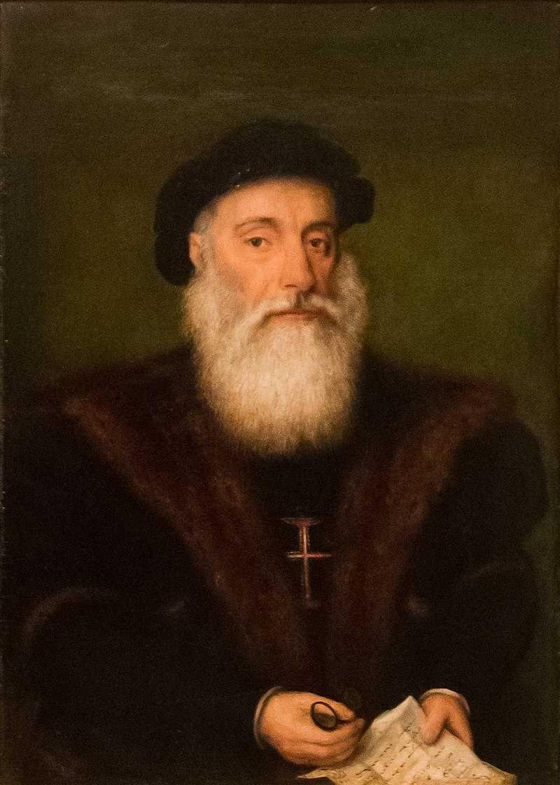 Vasco da Gama chega à Índia pelo mar