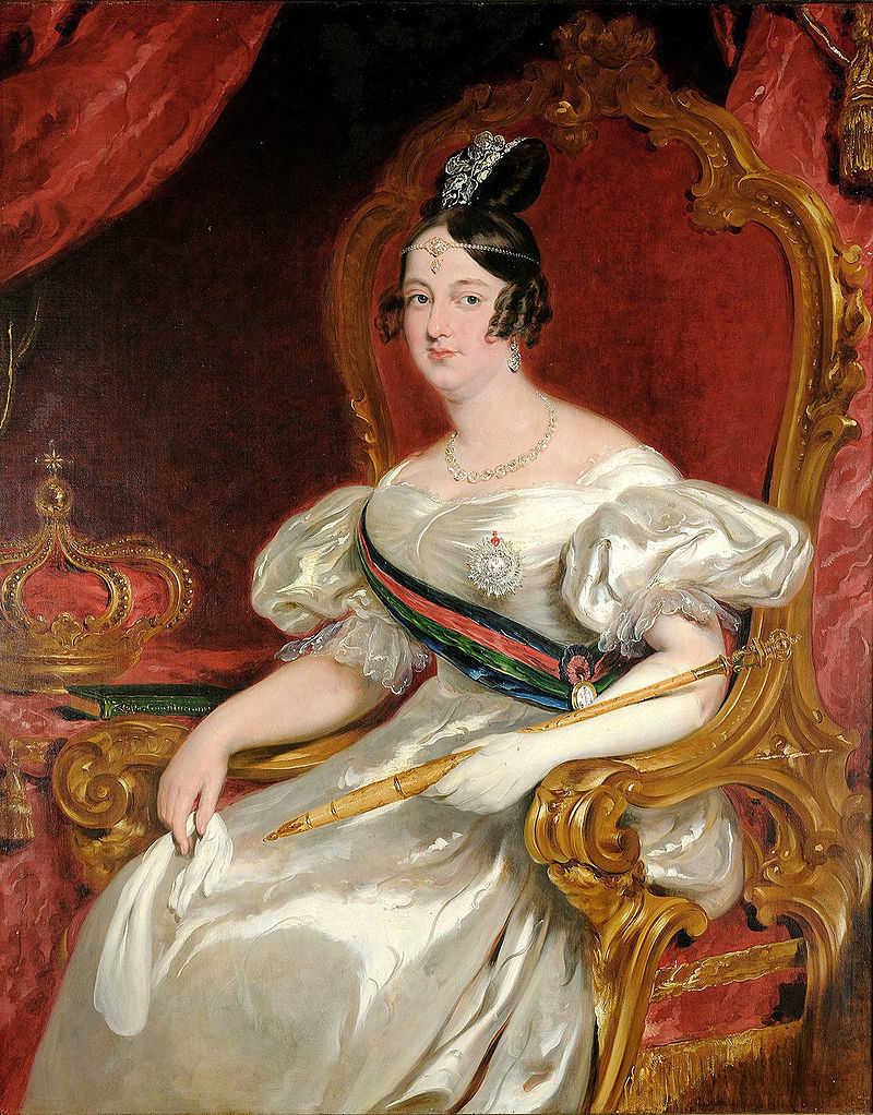 Aclamação da Rainha Maria II