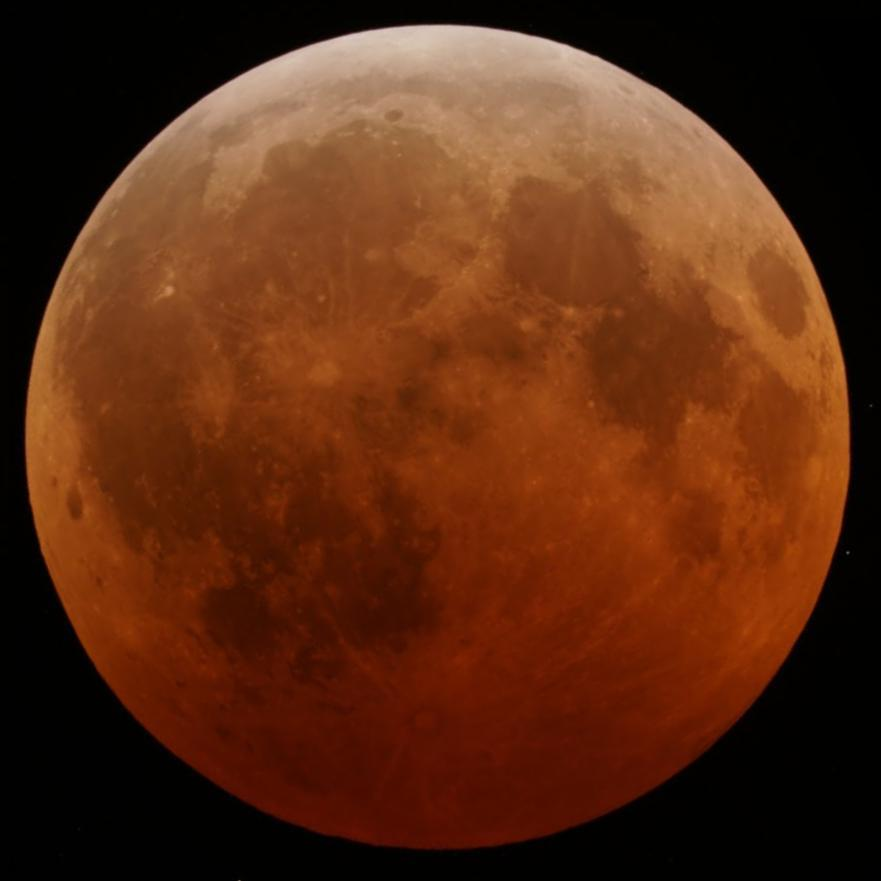 The first total lunar eclipse to occur on the day of the Northern winter solstice and Southern summer solstice since 1638 takes place.