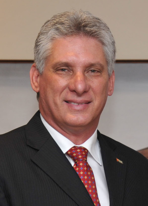 Miguel Díaz-Canel is sworn in as President of Cuba, marking the first time since 1959 that Cuba has had a president other than Fidel or Raúl Castro.