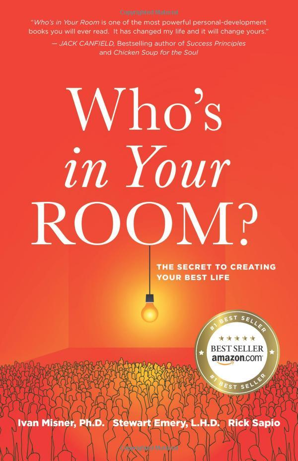 """On November 08, 2018, the book """"Who's in Your Room: The Secret to Creating Your Best Life"""" was released."""