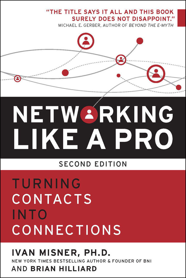 """On November 04, 2017, the book """"Networking Like a Pro: Turning Contacts into Connections – Second Edition"""" was released."""