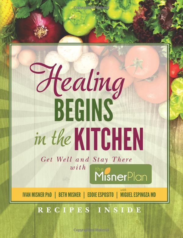 """On December 13, 2017, the book """"Healing Begins in the Kitchen: Get Well and Stay There with the Misner Plan"""" was released."""