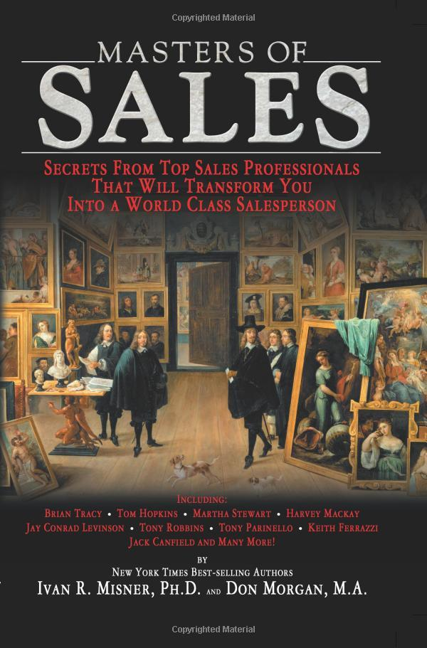 """On August 15, 2007, the book """"Masters of Sales"""" was released."""