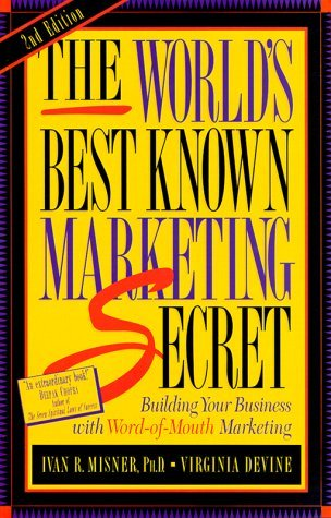 """On May 01, 1999, the book """"The World's Best Known Marketing Secret"""" was released."""