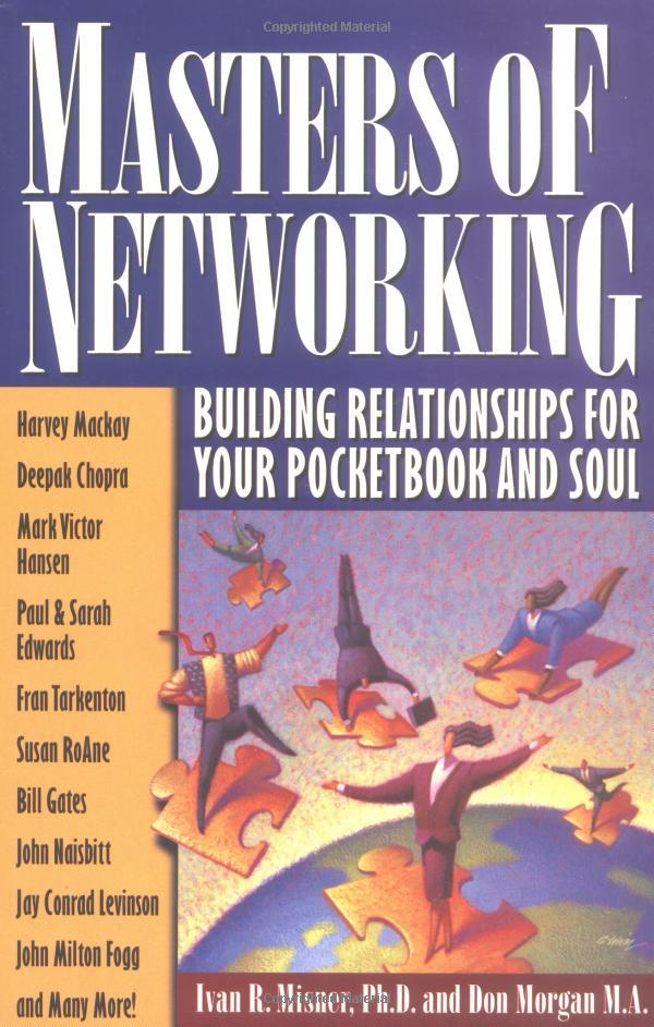 """On August 29, 2000, the book """"Masters of Networking"""" was released."""