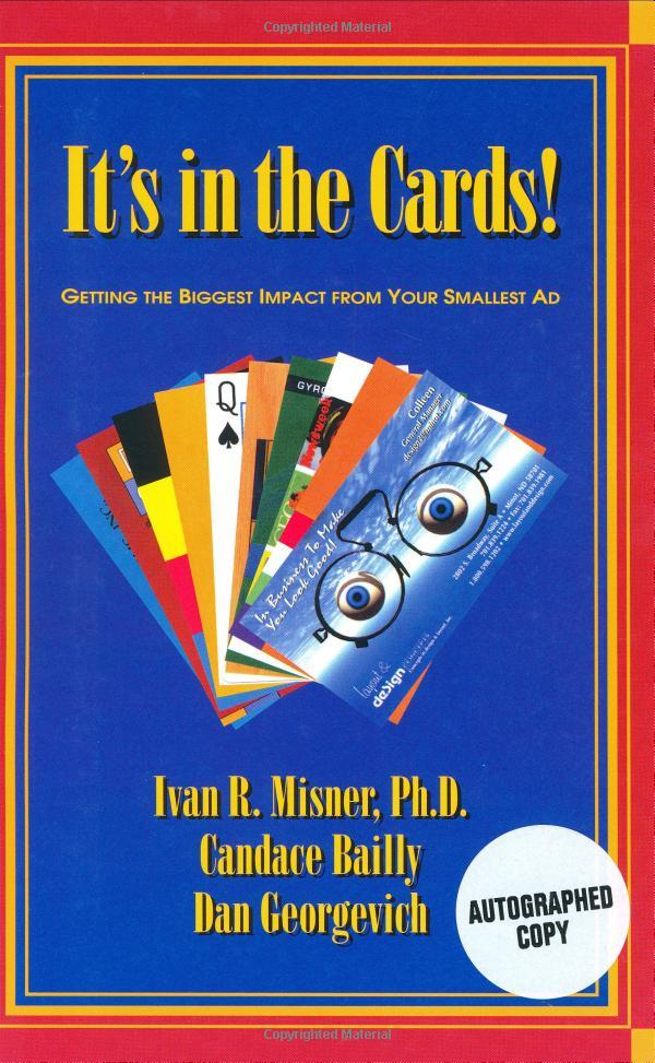 """On May 01, 2003, the book """"It's in the Cards"""" was released."""