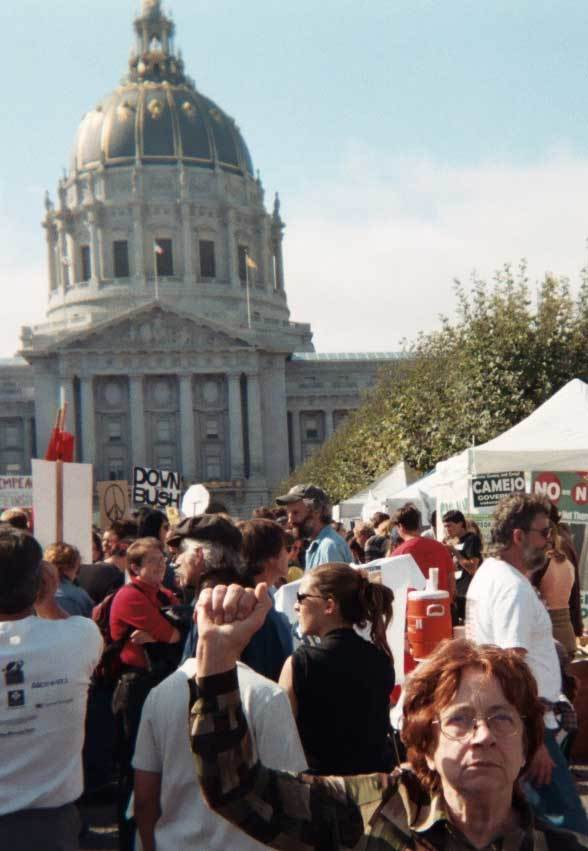 Millions of people worldwide take part in massive anti-war protests in anticipation of the United States and its allies invading Iraq.