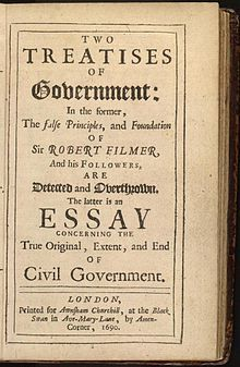 The Second Treatise of Government, by John Locke