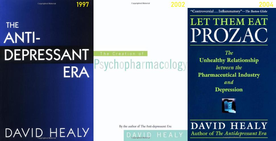 Books by David Healy