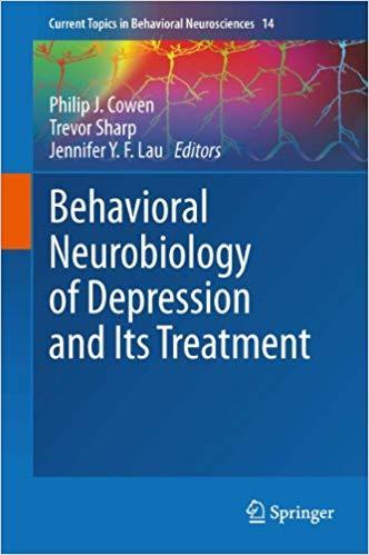 Classification of Depressive Disorders, by Philip J. Cowen