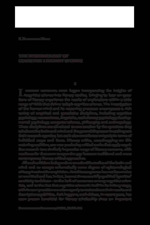 The Epistemology of Cognitive Literary Studies, by Elizabeth Hart