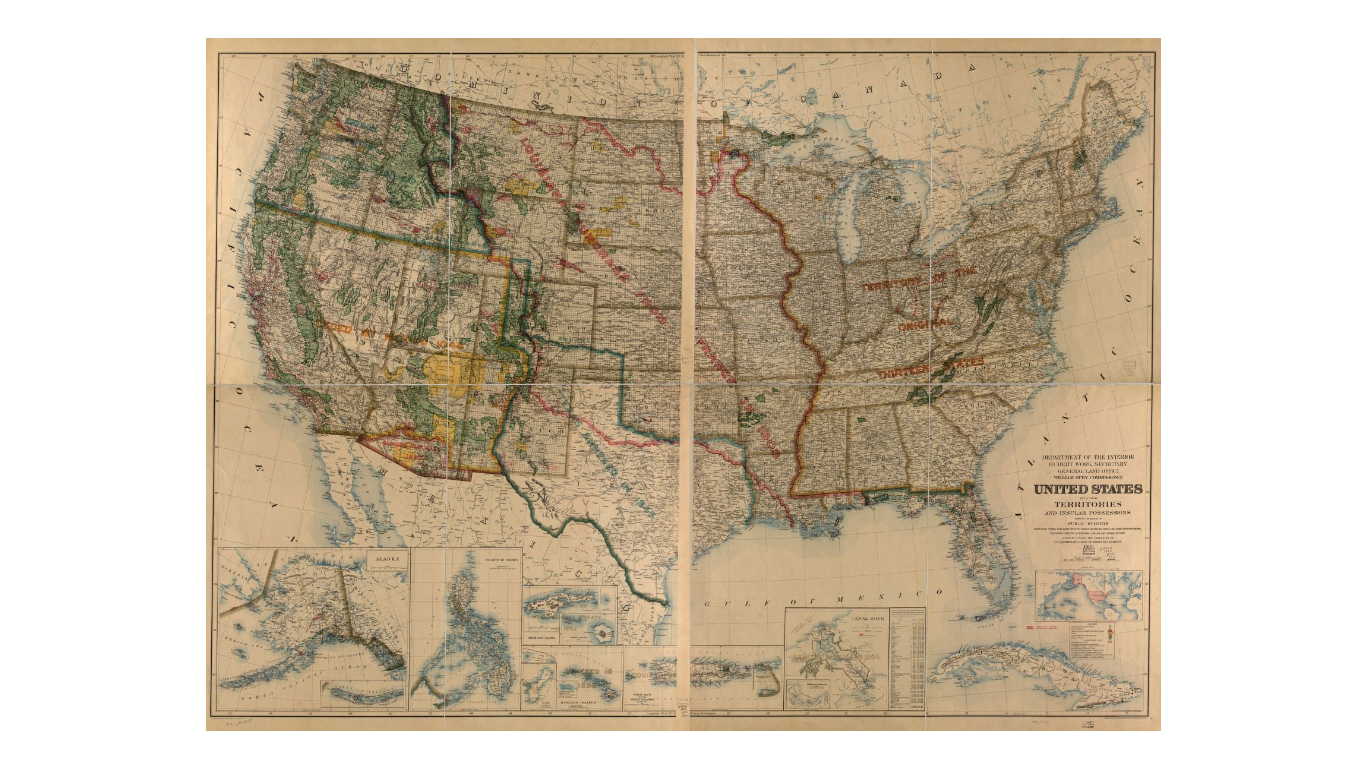 United States including territories and insular possessions