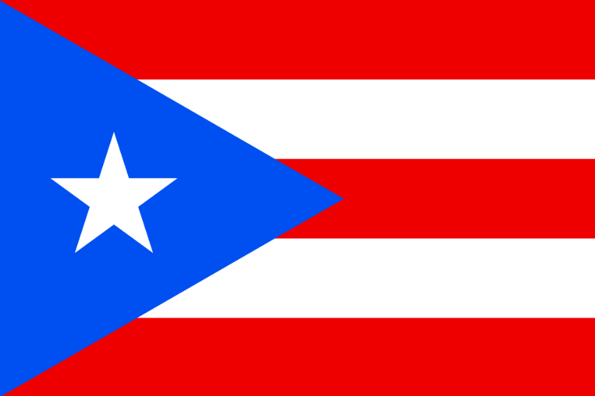Puerto Rican flags were illegal