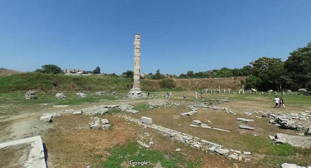 Temple of Artemis at Ephesus: first construction