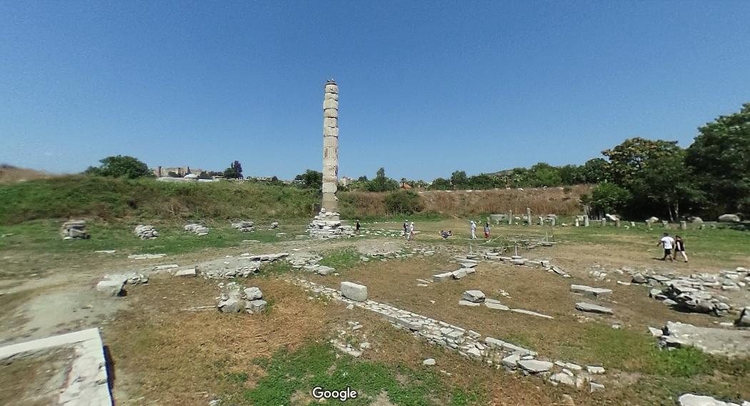 Temple of Artemis at Ephesus: second construction