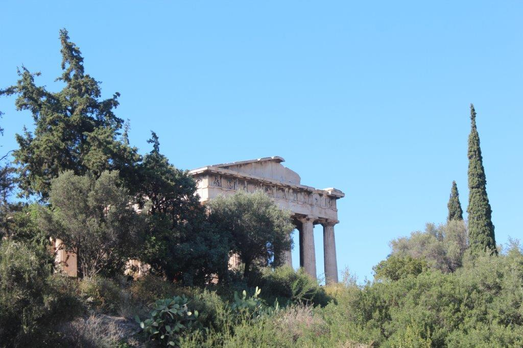 Construction of the Temple of Hephaestus
