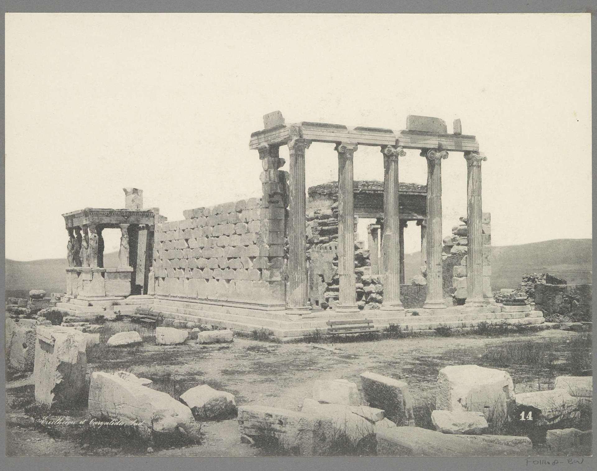 Construction of the Erechtheion