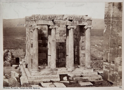 Construction of the Temple of Athena Nike