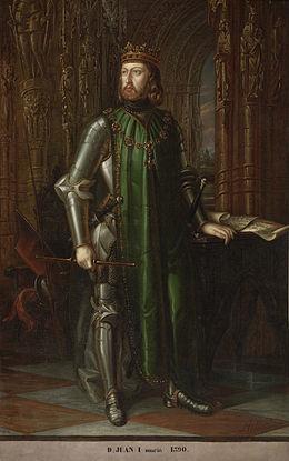 João I de Castela invade Portugal com a ajuda da cavalaria francesa