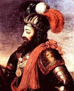 Participou na Batalha de Alfarrobeira ao lado de D. Afonso V, em 1449 - (D. Afonso, 1.º Duque de Bragança)