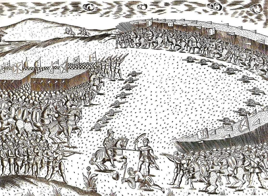 Participou na batalha de Alcácer-Quibir, tendo sido feito prisioneiro - (D. Teodósio II, 7.º Duque de Bragança)