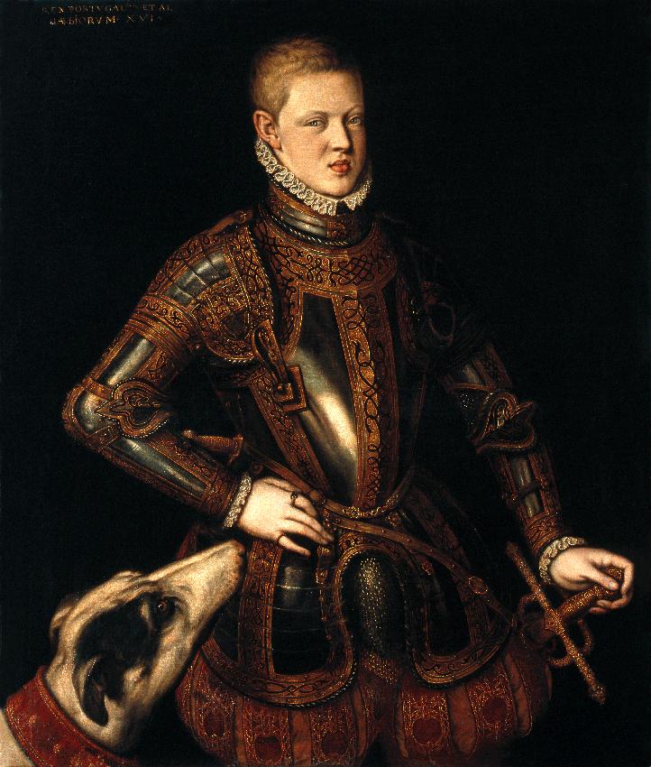 Esteve presente na aclamação de D. Sebastião como rei - (D. Teodósio I, 5.º Duque de Bragança)