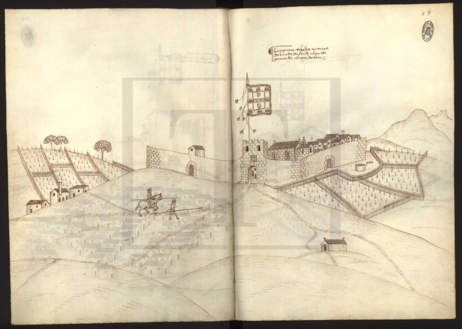 O cerco de Monforte e Tomada do Castelo de Arronches