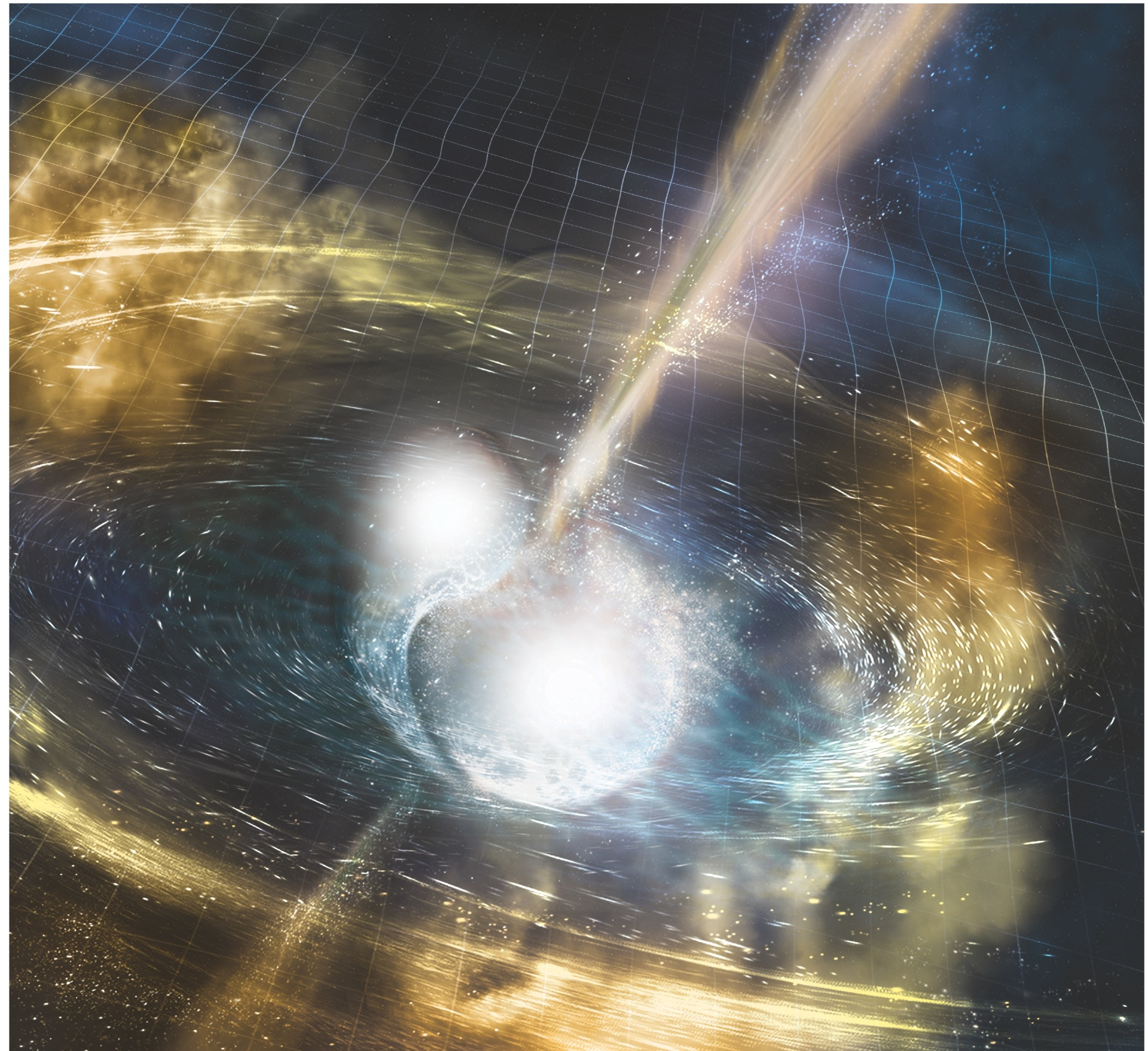 Gravitational waves of two neutron stars