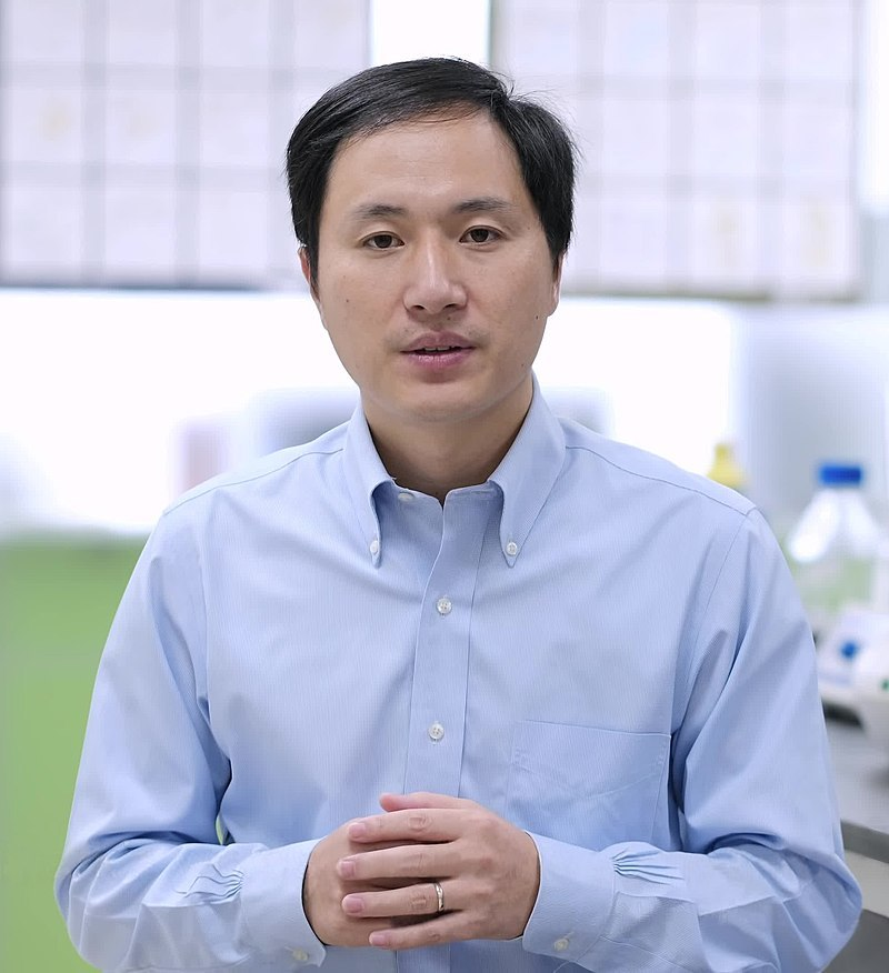 Chinese scientist He Jiankui, at a public conference in Hong Kong, announces that he has altered the DNA of twin human girls born earlier in the month to try to make them resistant to infection with the HIV virus.